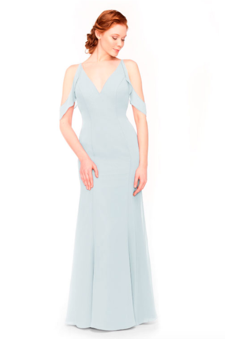 Bari Jay Bridesmaid Dress 1972 - Mistyblue