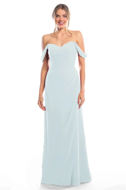 Bari Jay Bridesmaid Dress 2080 - Mistyblue