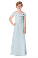 Bari Jay Junior Bridesmaid Dress - 1730(JR)-Mistyblue