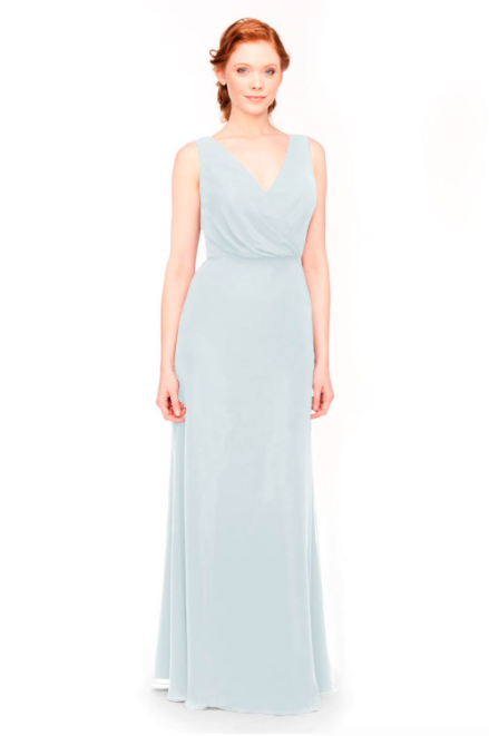 Bari Jay Bridesmaid Dress 1970 -Mistyblue