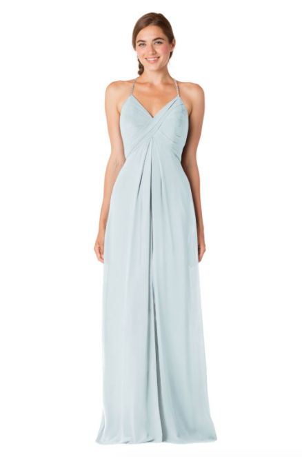 Bari Jay Bridesmaid Dress - 1723 BC-Mistyblue