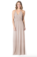 Mocha-Bari Jay Bridesmaid Dress - 1600