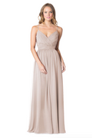 Bari Jay Bridesmaid Dress - 1606 BC-Mocha