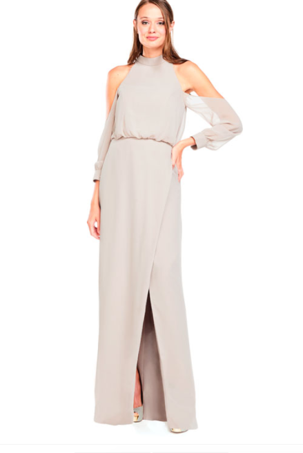 Bari Jay Bridesmaid Dress 2028 - Mocha