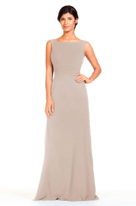 Bari Jay Bridesmaid Dress 1818 -Mocha