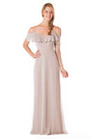 Bari Jay Bridesmaid Dress - 1730-Mocha