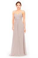 Bari Jay Bridesmaid Dress 1962 -Mocha