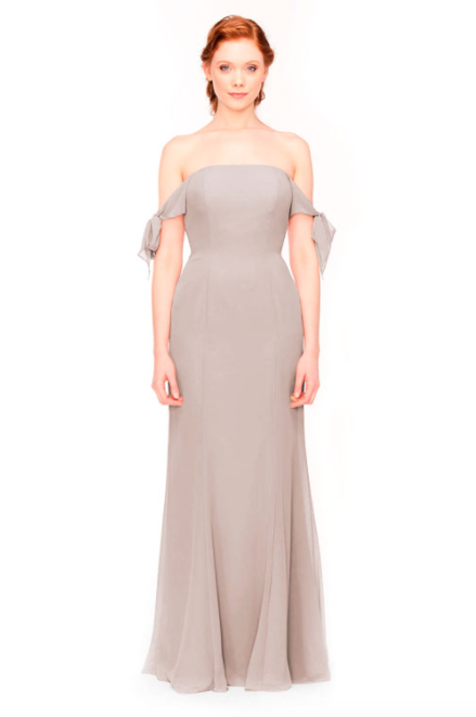 Bari Jay Bridesmaid Dress 1974 - Mocha
