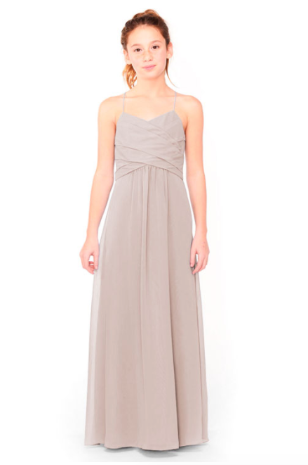 Bari Jay Junior Bridesmaid Dress 1962 - Moch