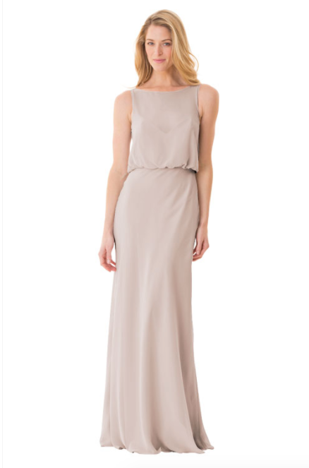 Bari Jay Bridesmaid Dress - 1661-Mocha