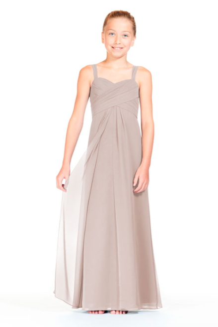 Bari Jay Junior Bridesmaid Dress 1803 (JR)-Mocha