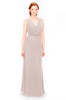 Bari Jay Bridesmaid Dress 1970 -Mocha