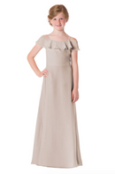 Bari Jay Junior Bridesmaid Dress - 1730(JR)-Mocha