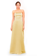 Bari Jay Bridesmaid Dress 1975 - Moonglow