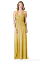 Mustard-Bari Jay Bridesmaid Dress - 1600