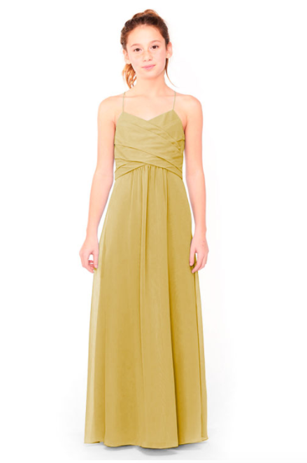 Bari Jay Junior Bridesmaid Dress 1962 - Mustard