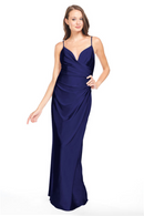 Bari Jay Bridesmaid Dress - 2005 Navy