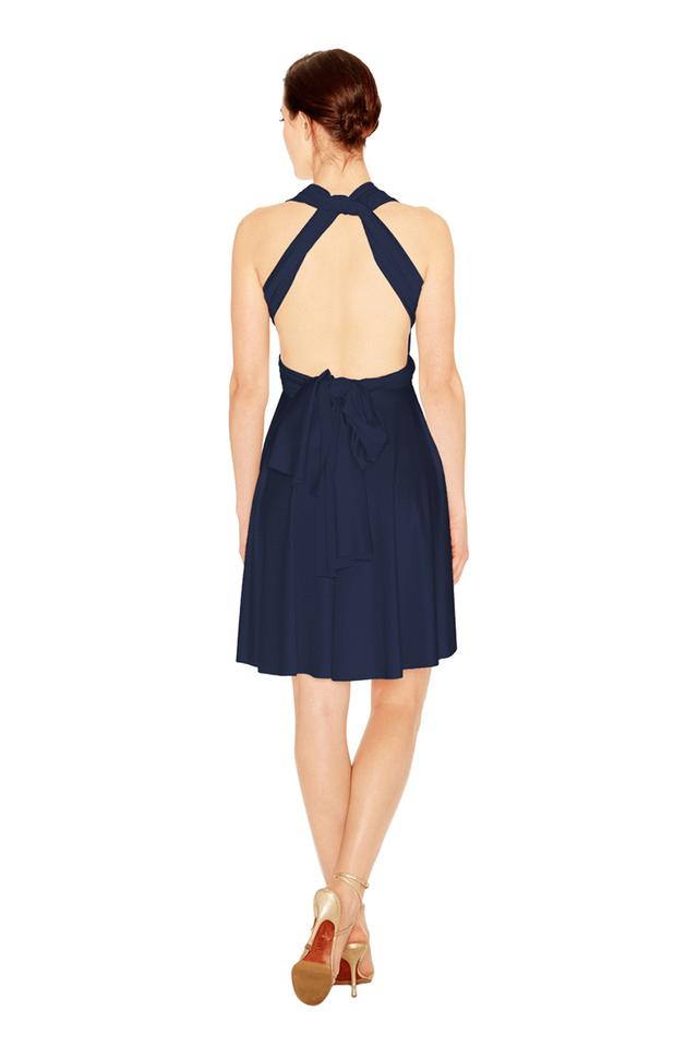 Twobirds Bridesmaid Mini Dress Back
