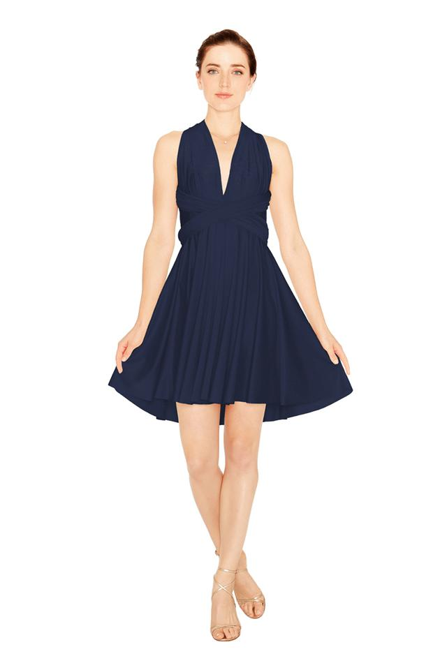 Twobirds Bridesmaid Mini Dress Front