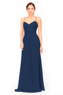 Bari Jay Bridesmaid Dress 1962 -Navy