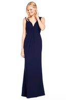 Bari Jay Bridesmaid Dress 2011 -Navy
