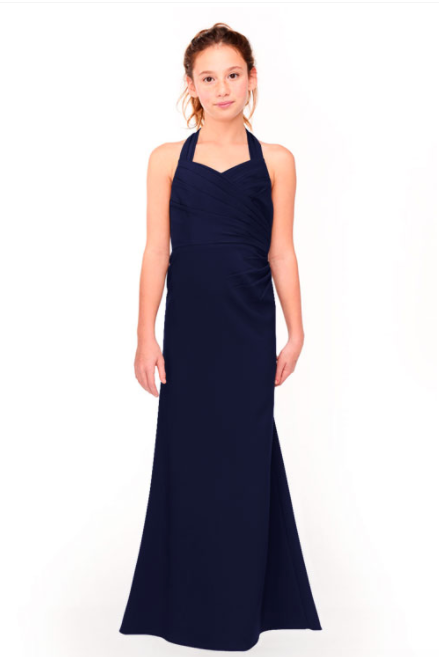 Bari Jay Junior Bridesmaid Dress 1958 - Navy