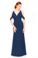 Bari Jay Bridesmaid Dress 1972 - Navy