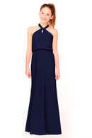 Bari Jay Junior Bridesmaid Dress 1954 -Navy