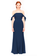 Bari Jay Bridesmaid Dress 1974 - Navy