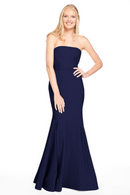 Bari Jay Bridesmaid Dress 2015 -Navy