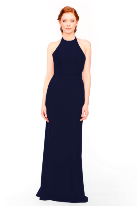 Bari Jay Bridesmaid Dress 1961 - Navy