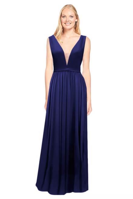 Bari Jay Bridesmaid Dress 2034 - Navy