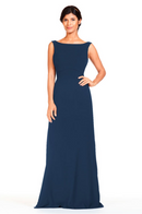 Bari Jay Bridesmaid Dress 1818 -Navy