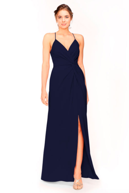 Bari Jay Bridesmaid Dress 1951 - Navy