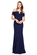Bari Jay Bridesmaid Dress 2014 -Navy