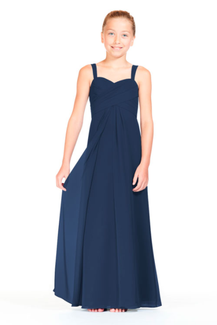 Bari Jay Junior Bridesmaid Dress 1803 (JR)-Navy