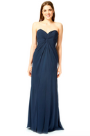 Bari Jay Bridesmaid Dress 1870 -Navy