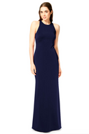 Bari Jay Bridesmaid Dress 1882 - Navy