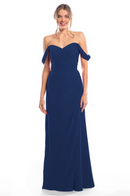 Bari Jay Bridesmaid Dress 2080 - Navy