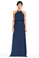 Bari Jay Bridesmaid Dress 1801-Navy