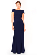 Bari Jay Bridesmaid Dress 1953 - Navy