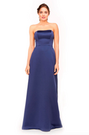 Bari Jay Bridesmaid Dress 1975 - Navy