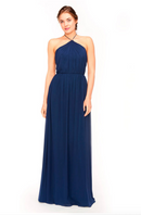 Bari Jay Bridesmaid Dress 1969 - Navy