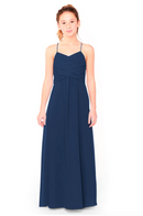 Bari Jay Junior Bridesmaid Dress 1962 - Navy