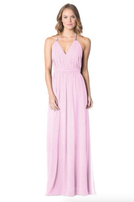 Orchid-Bari Jay Bridesmaid Dress - 1600