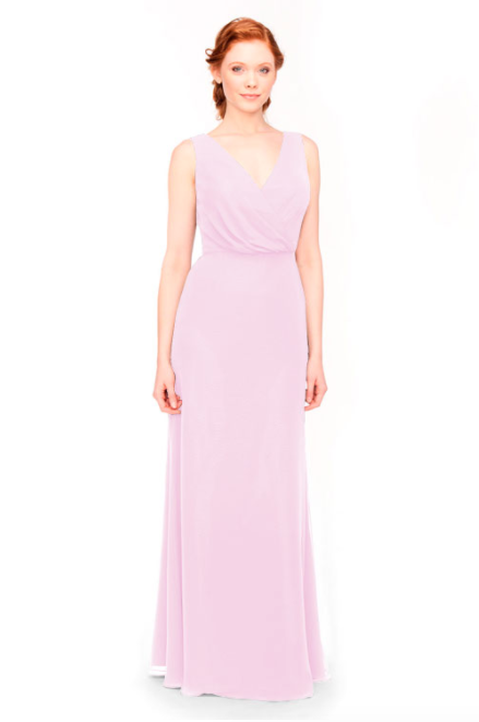 Bari Jay Bridesmaid Dress 1970 -Orchid