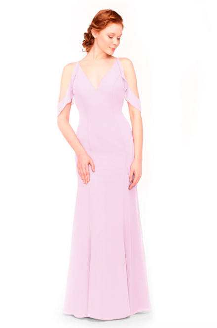 Bari Jay Bridesmaid Dress 1972 - Orchid