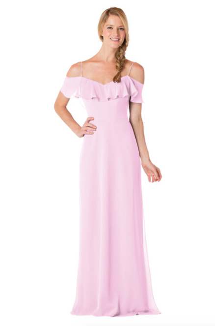 Bari Jay Bridesmaid Dress - 1730-Orchid