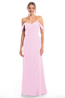 Bari Jay Bridesmaid Dress 2080 - Orchid
