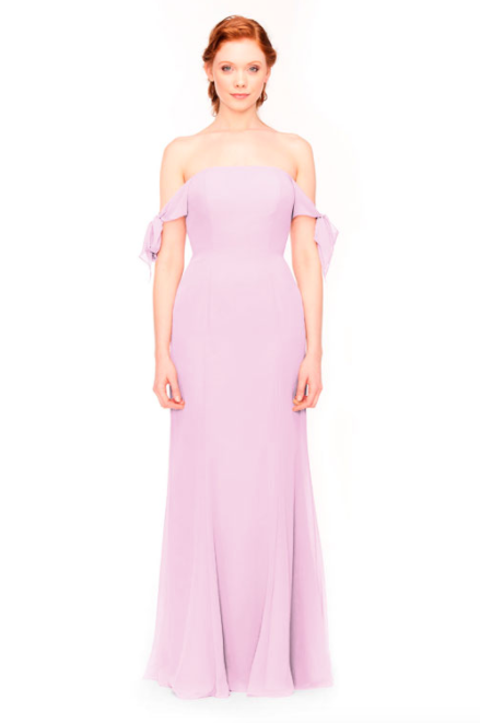 Bari Jay Bridesmaid Dress 1974 - Orchid
